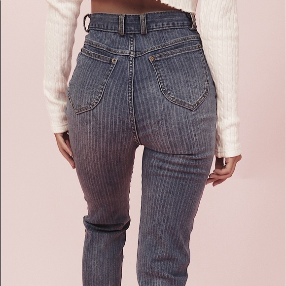 Crybaby Brand Striped Jeans